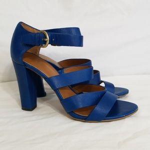 Kate Spade Saturday Blue Strappy Heels 7